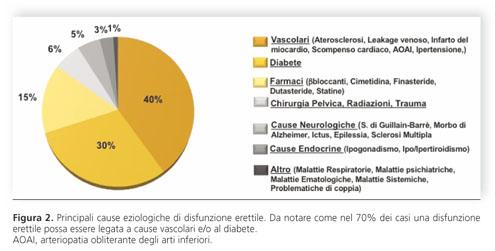 fisiopatologia della disfunzione erettile del diabete
