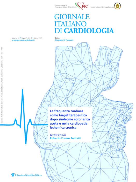 2017 Vol. 18 Suppl. 1 al N. 3 MarzoLa frequenza cardiaca come target terapeutico dopo sindrome coronarica acuta e nella cardiopatia ischemica cronica