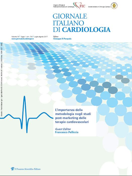 2017 Vol. 18 Suppl. 1 al N. 7 Luglio-AgostoL'importanza della metodologia negli studi post-marketing delle terapie cardiovascolari