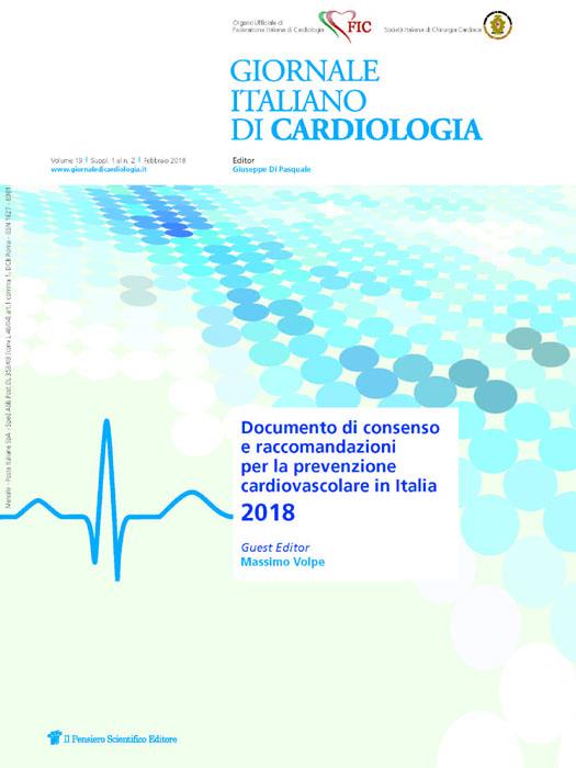 2018 Vol. 19 Suppl. 1 al N. 2 FebbraioDocumento di consenso  e raccomandazioni per la prevenzione  cardiovascolare in Italia 2018