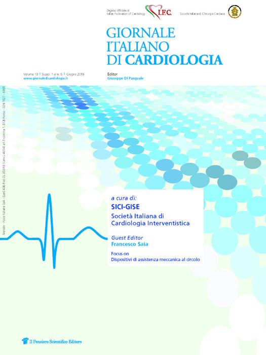 2018 Vol. 19 Suppl. 1 al N. 6 Giugnoa cura di: SICI-GISE Società Italiana di Cardiologia Interventistica