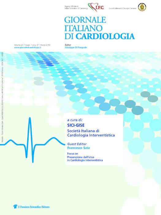 2019 Vol. 20 Suppl. 1 al N. 3 Marzoa cura di: SICI-GISE Società Italiana di Cardiologia Interventistica