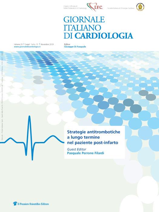 2019 Vol. 20 Suppl. 1 al N. 11 NovembreStrategie antitrombotiche a lungo termine nel paziente post-infarto