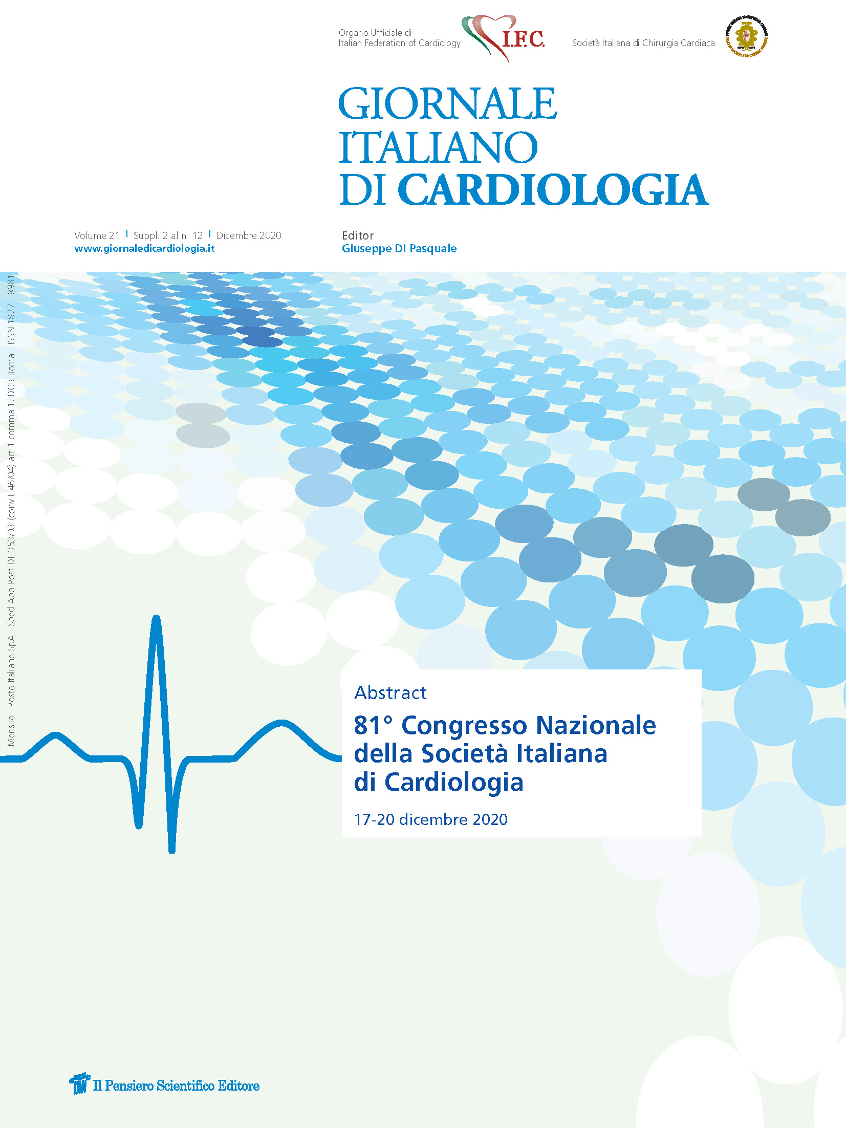 2020 Vol. 21 Suppl. 2 al N. 12 DicembreAbstract 81° Congresso Nazionale SIC