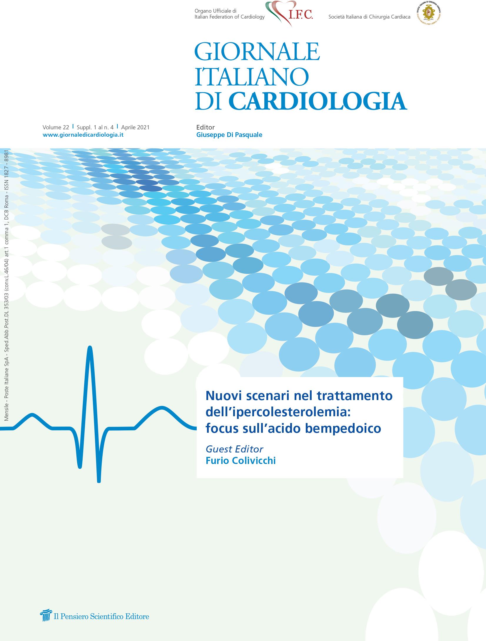 2021 Vol. 22 Suppl. 1 al N. 4 AprileNuovi scenari nel trattamento dell'ipercolesterolemia: focus sull'acido bempedoico