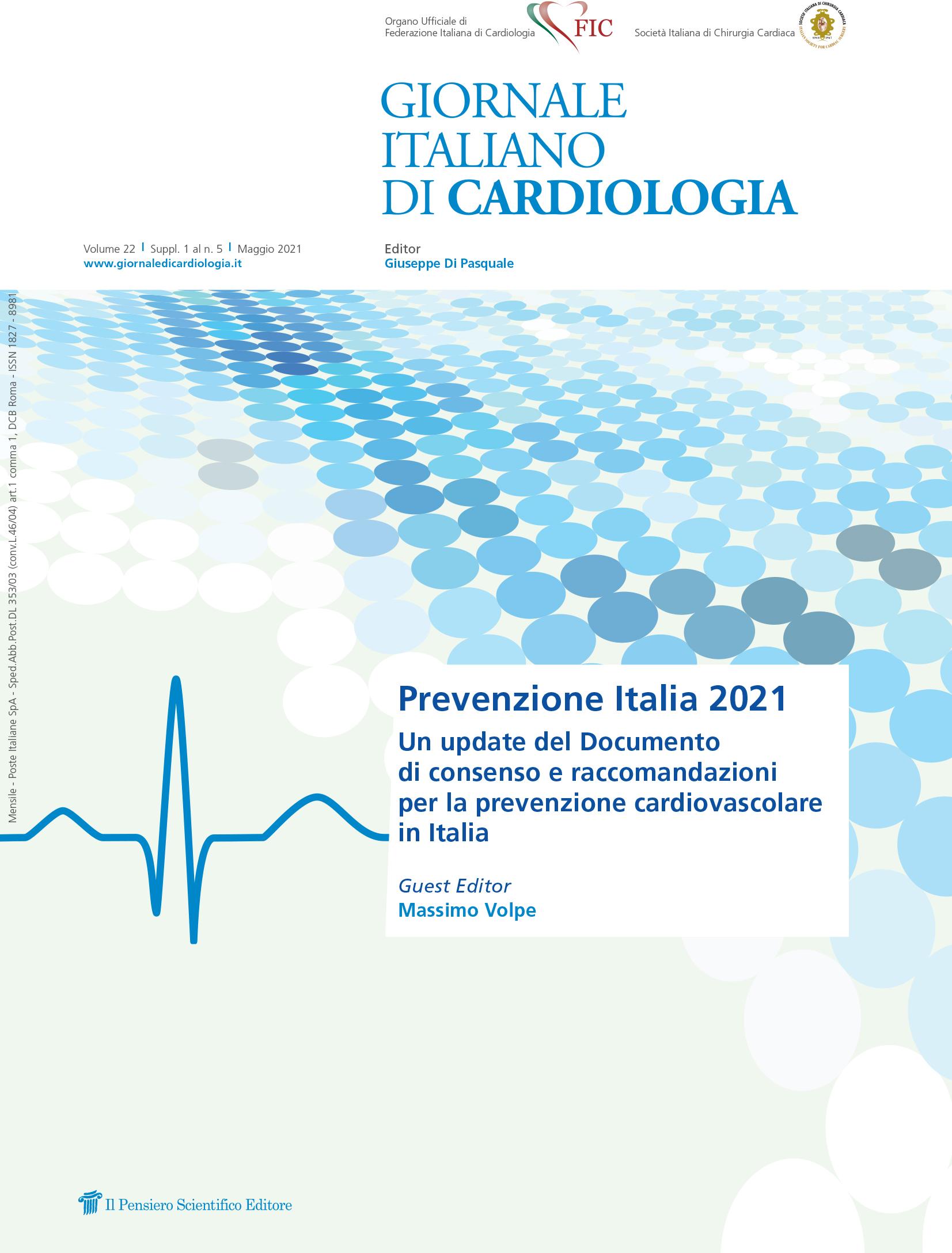 2021 Vol. 22 Suppl. 1 al N. 5 MaggioPrevenzione Italia 2021